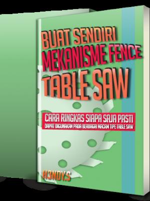 Cover Buku Buku Mekanisme Fence Table Saw