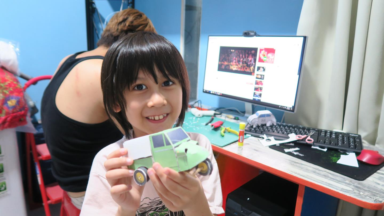 paper craft daihatsu