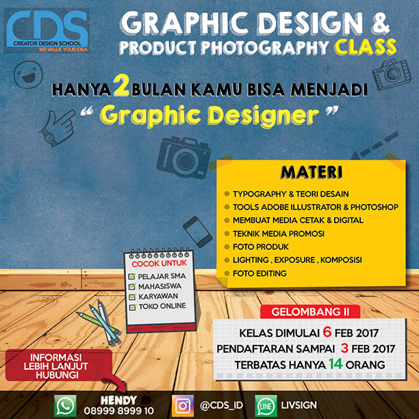 CREATOR DESIGN SCHOOL 13 H3NDY