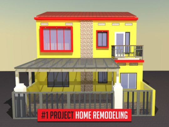 project home remodeling pertama