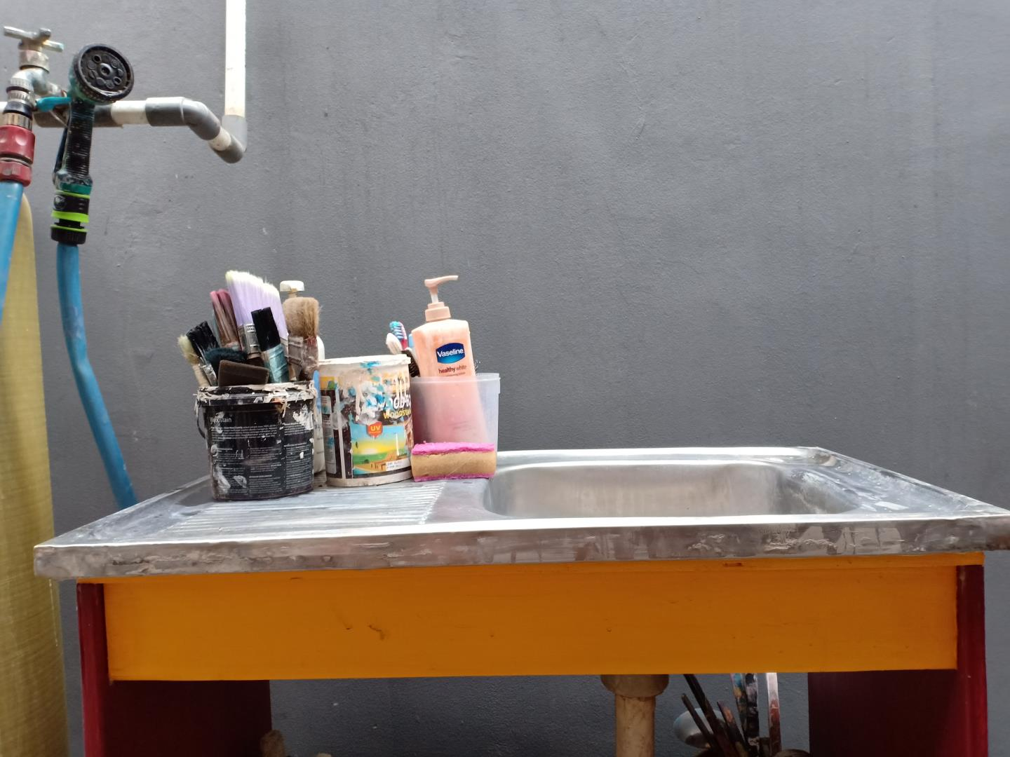 I Made Portable Sink (cheap & portable) 3 H3NDY