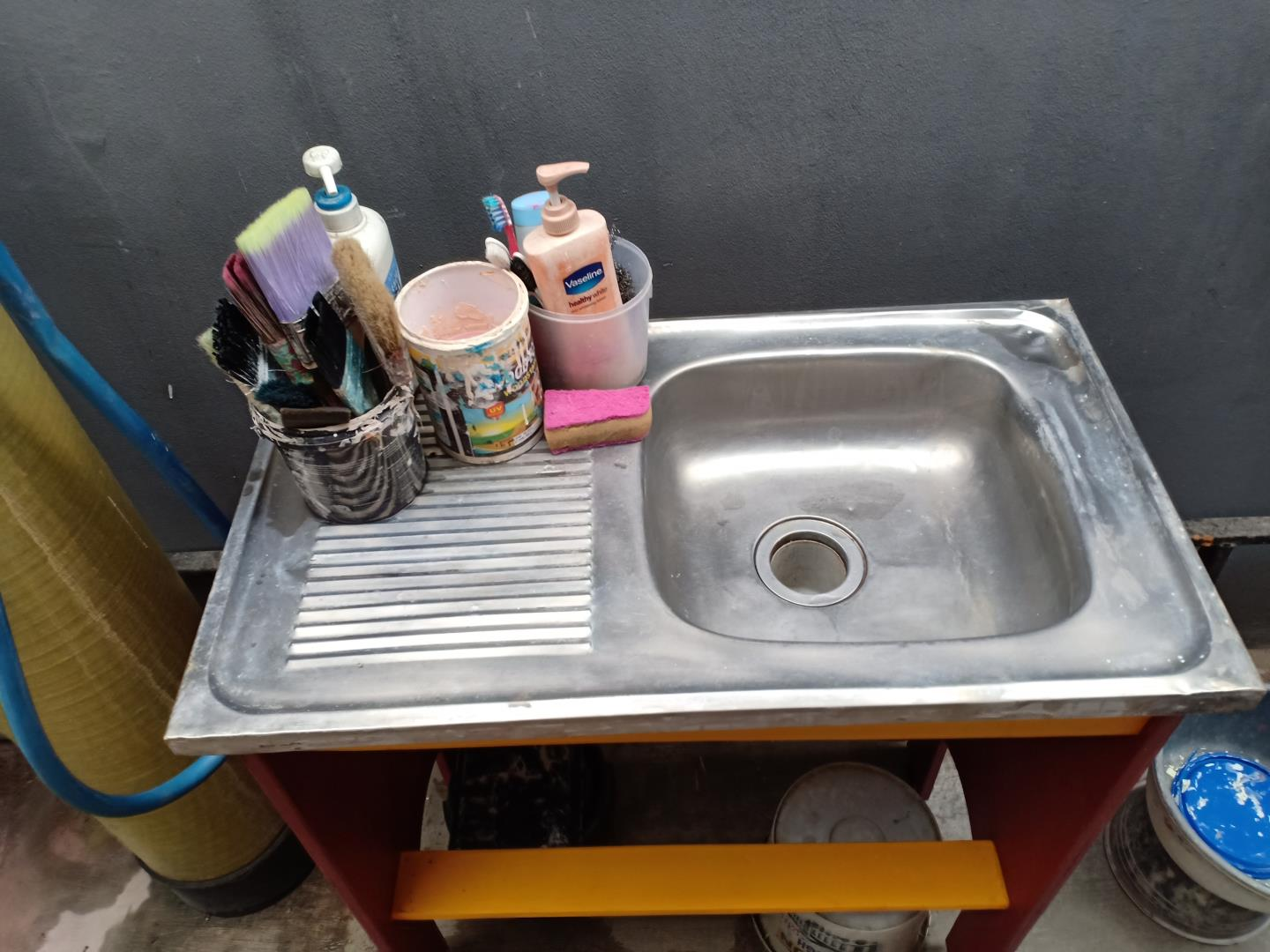 I Made Portable Sink (cheap & portable) 2 H3NDY