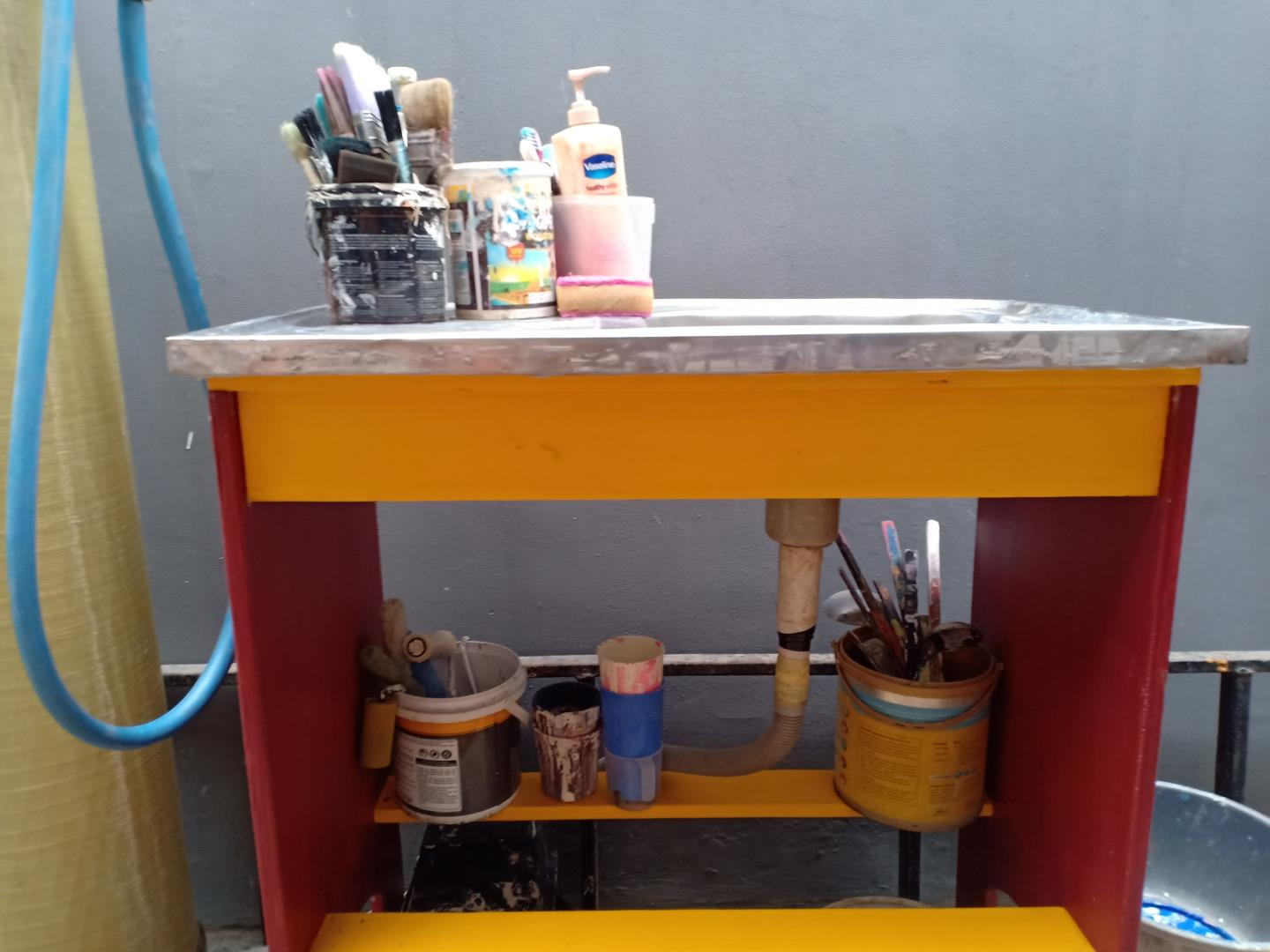 I Made Portable Sink (cheap & portable) 4 H3NDY