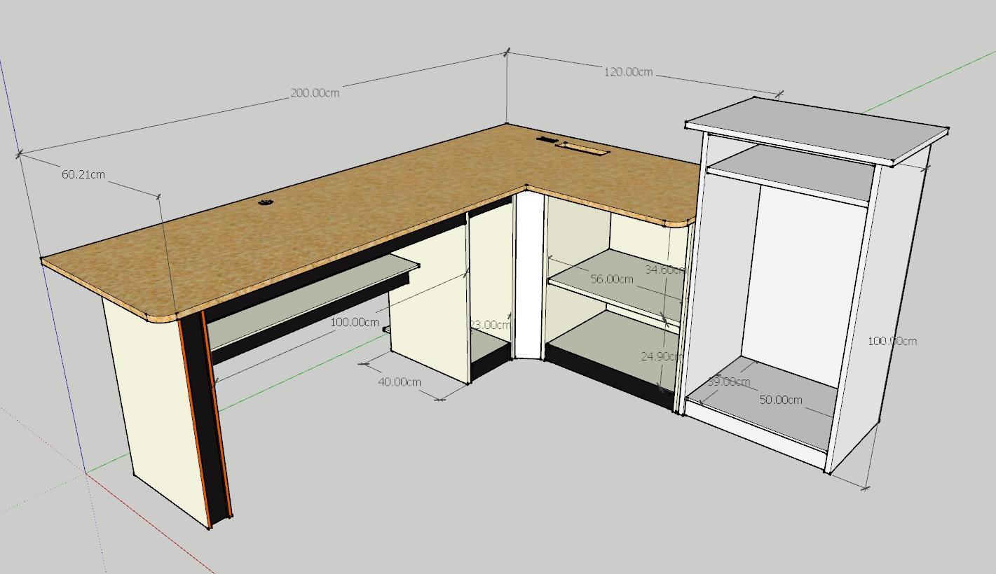sketch desk baru