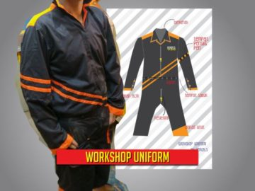 my workshop uniform
