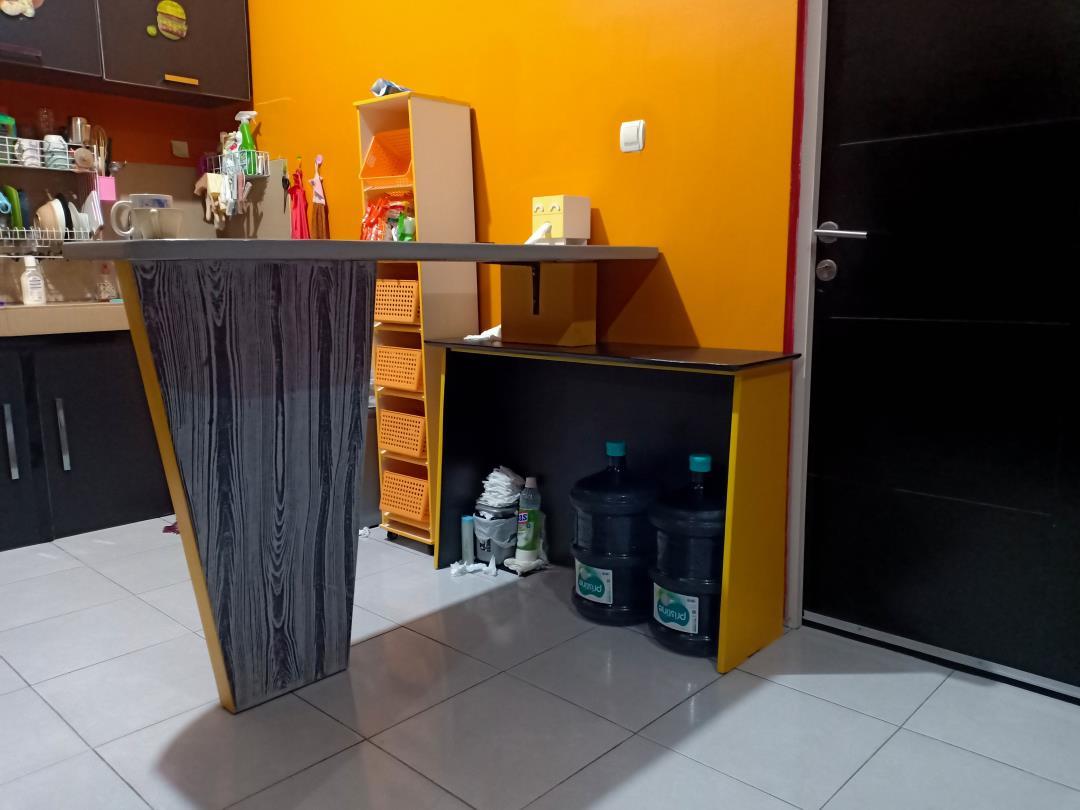 tampilan ruangan dapur by h3ndy