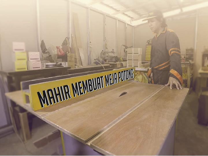 Mahir Membuat Meja Potong h3ndy