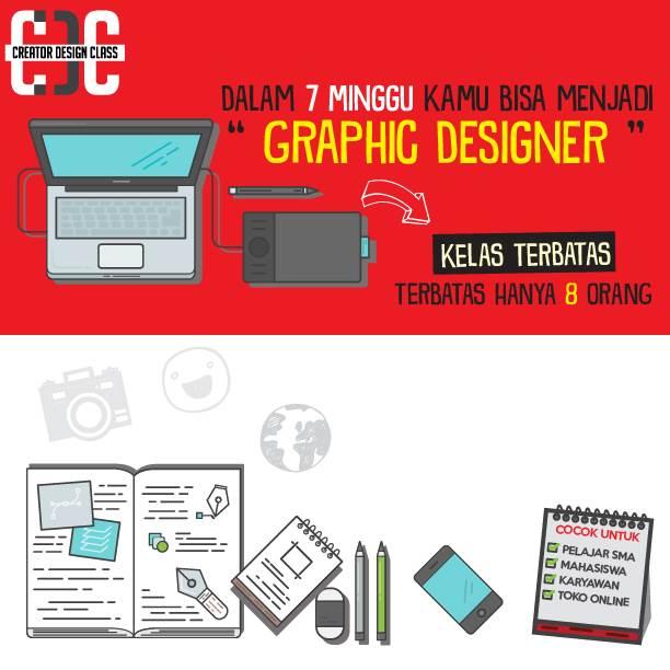 poster promosi creator design class