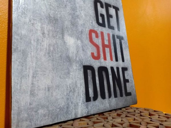 hiasan dinding kata motivasi
