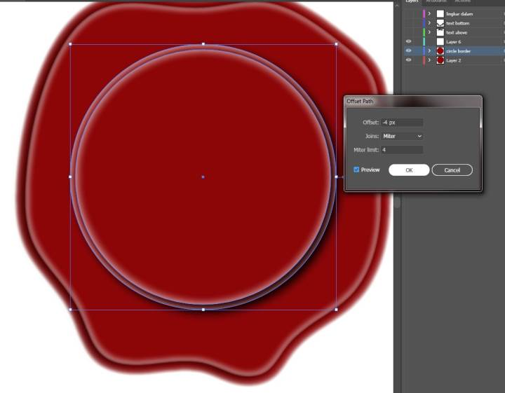 tutorial cara membuat desain stempel h3ndy