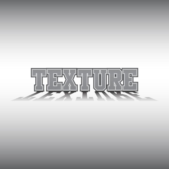 desain Font dengan texture besi h3ndy