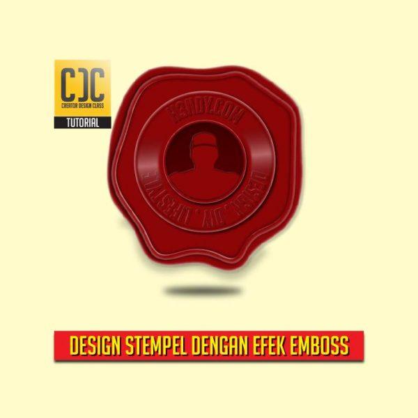 Cara Membuat Desain Stempel dengan efek emboss