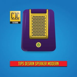 Tutorial Desain Speaker Modern Menggunakan Adobe Illustrator