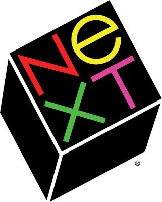 next computer logo by paul rand for steve jobs