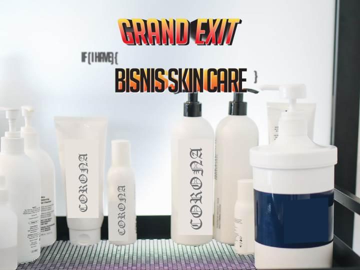 cara saya bertahan bila memiliki bisnis skin care