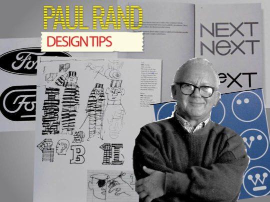 4 tips desain grafis paul rand