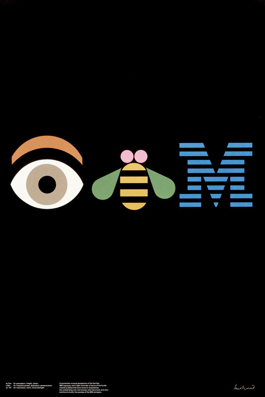 ibm logo by paul rand