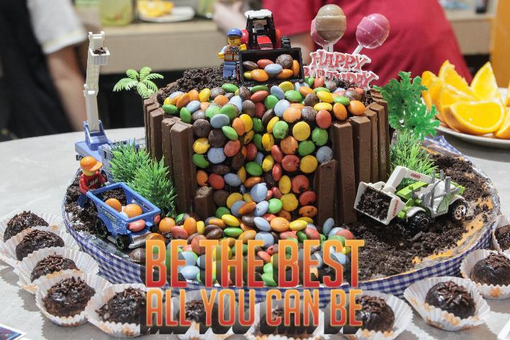 desain kue ulang tahun anak ketika lockdown