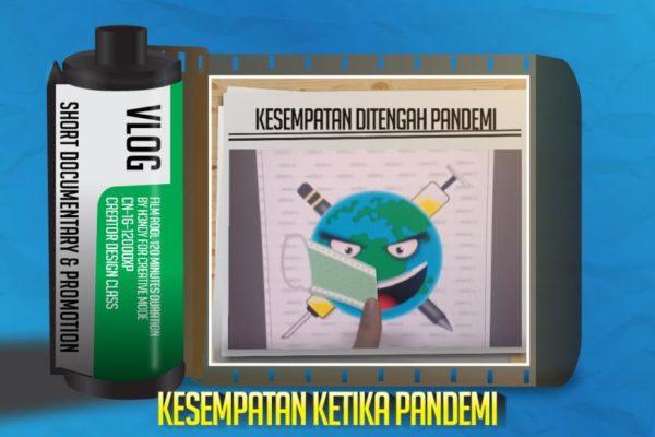 Promosi Program Pelatihan Kelas Desain di Saat Pandemi