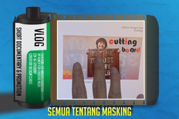 Teknik Masking Desain Grafis