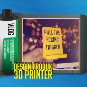 Cara Desain Phone Holder 3D Printer (dudukan handphone)