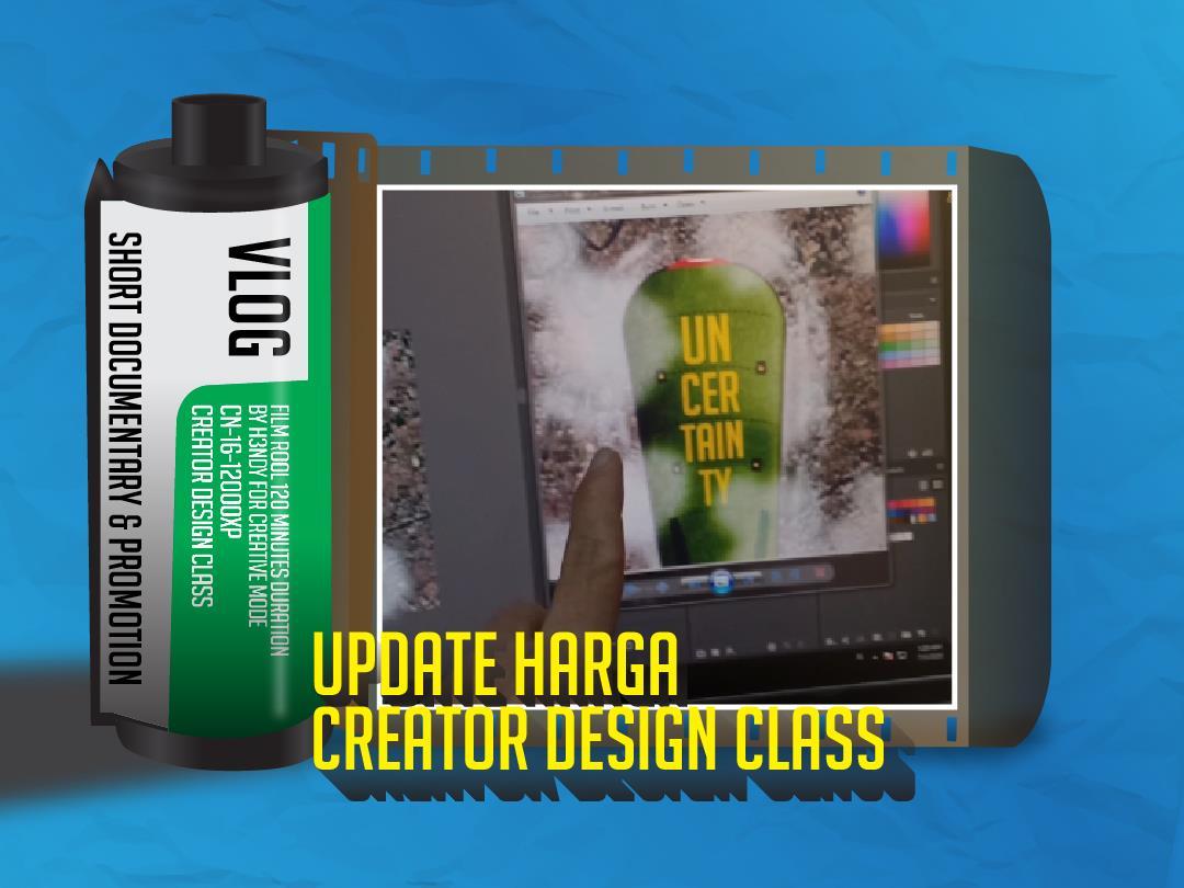creator design class update harga
