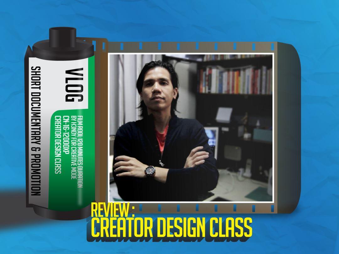 review kelas desain creator design class