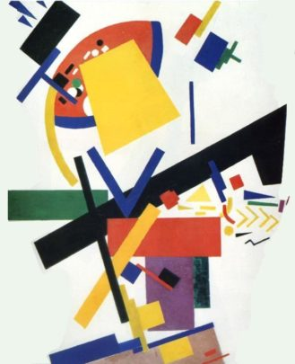lukisan karya Kazimir malevich