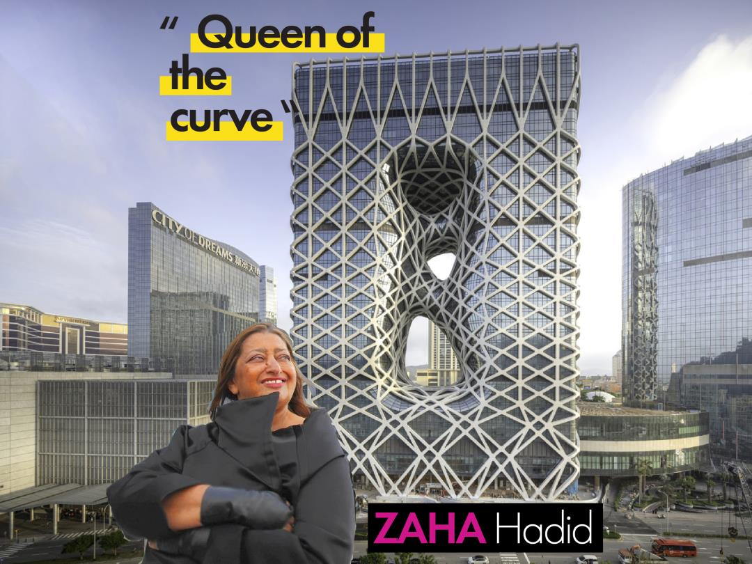 zaha hadid queen of the curve