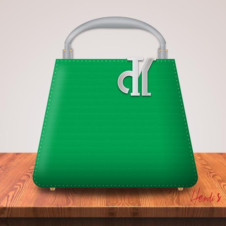 Desain Vas Bunga Bentuk Tas Fashion 1 H3NDY
