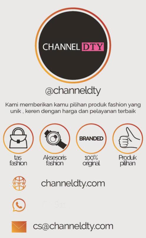 Konsep Desain Kartu Nama Channel DTY 1 H3NDY
