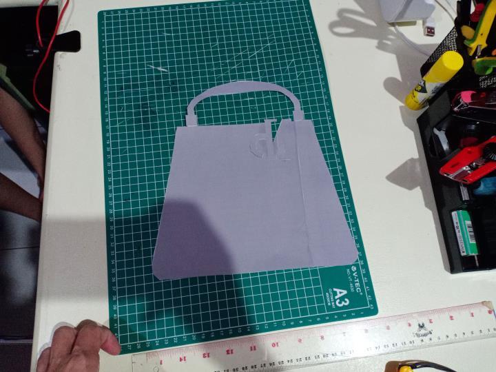 Desain Vas Bunga Bentuk Tas Fashion 3 H3NDY