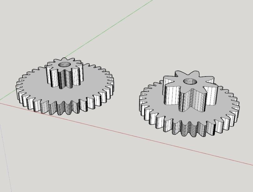 cara mudah design gear 3d printer 6 H3NDY