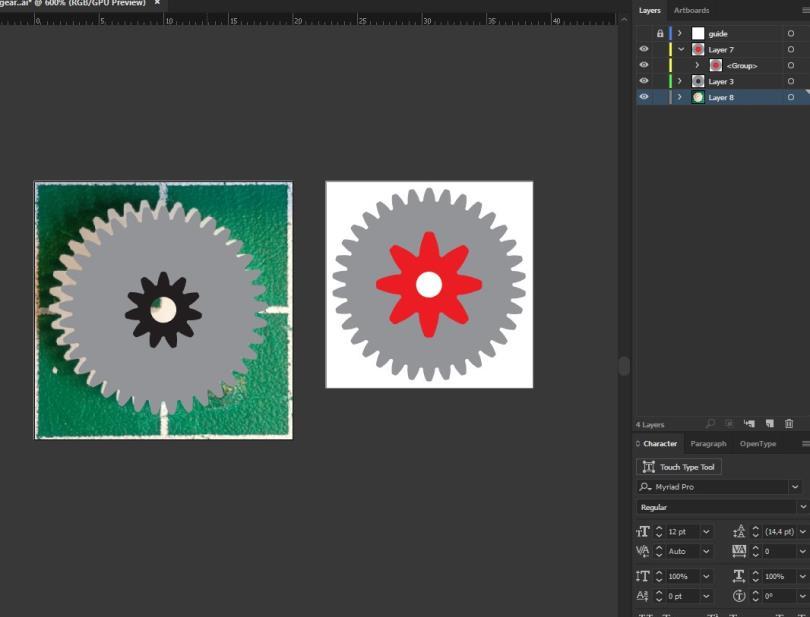 cara mudah design gear 3d printer 4 H3NDY