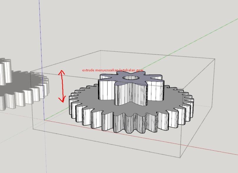 cara mudah design gear 3d printer 7 H3NDY