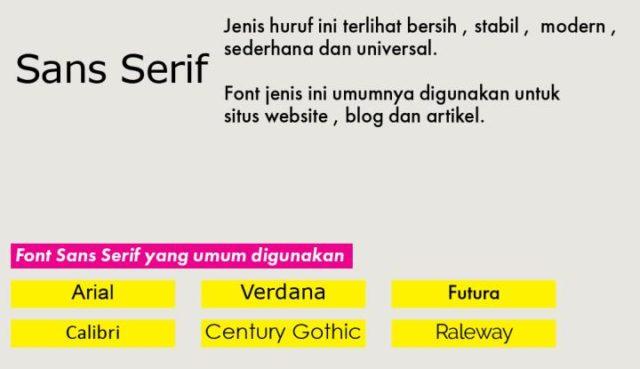 Tips Pengaturan Font Untuk Hasil Optimal 4 H3NDY