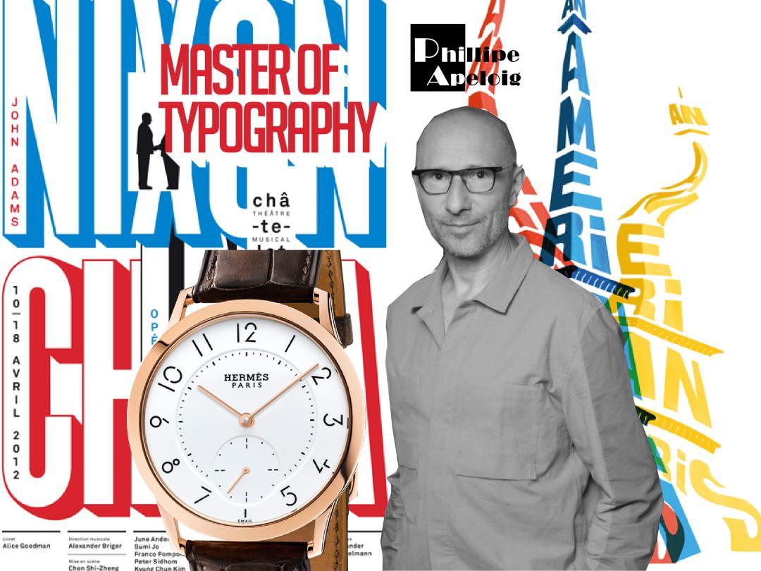 Philippe Apeloig Profesor Desain Ahli Tipografi Dari Prancis
